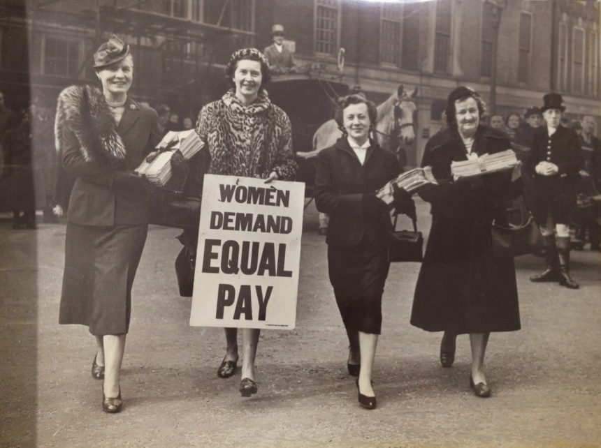 1954 Women Demand Equal Pay