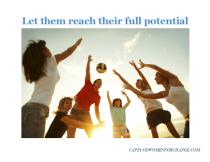 let them full potential